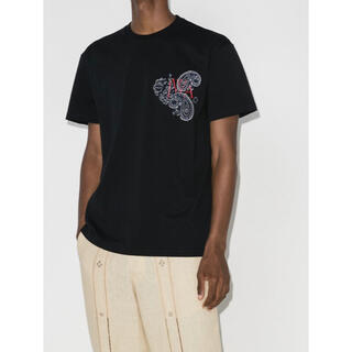 J.W.ANDERSON - 20aw JW ANDERSON ペイズリーTシャツ XL LOEWE