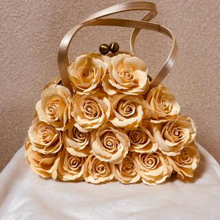 ダイアナ(DIANA)の銀座 DIANA ダイアナ パーティーバッグ 薔薇/バラ(ハンドバッグ)