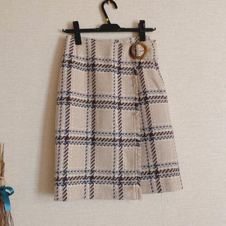 WILLSELECTION - ウィルセレクション チェックタイトスカート
