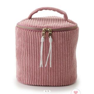 gelato pique - gelato pique  リブバニティポーチ ピンク