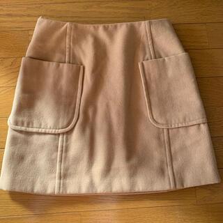 ロペピクニック(Rope' Picnic)のロペ*ポケット付き台形スカート(ひざ丈スカート)