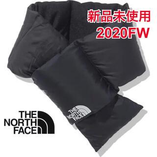 ザノースフェイス(THE NORTH FACE)の新品 ノースフェイス ヌプシ マフラー ブラック 2020FW ダウンマフラー (マフラー)