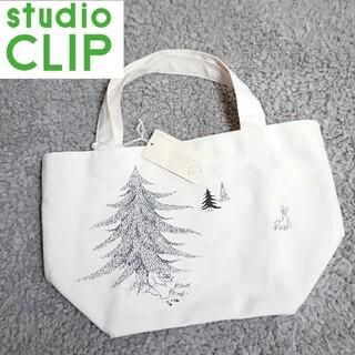 STUDIO CLIP - 未使用 スタジオクリップ×ひらさわまりこ ミニトートバッグ もみの木