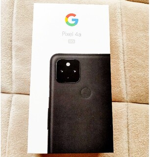 ANDROID - ★未使用★Google Pixel4a 5G SIMロック解除