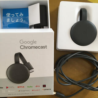 クローム(CHROME)のGoogle Chrome cast (PC周辺機器)