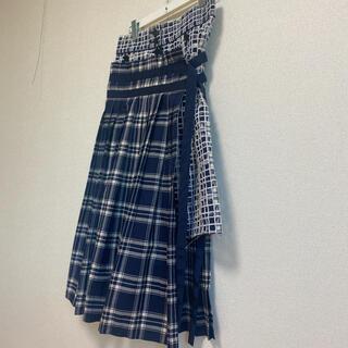 サカイ(sacai)の『未使用 美品』★sacai サカイ★2015♡プリーツ レイヤード スカート(ロングスカート)