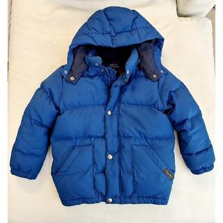 Ralph Lauren - ラルフローレン 男の子 110 115 ブルー ダウンジャケット ダウン コート