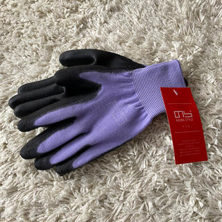 ガーデニング 手袋 M  パープル(その他)