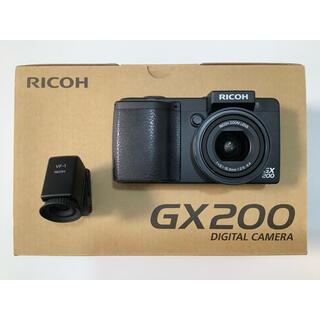 RICOH - RICOH  GX200  &  VF-1  バッテリー2個、カメラケース付属