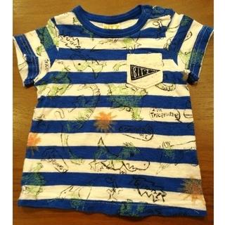 ビッツ(Bit'z)のF.O.KIDS エフオーキッズ Bit's Tシャツ 80cm ボーダー(Tシャツ)