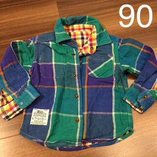エフオーキッズ(F.O.KIDS)のFOキッズ リバーシブル  シャツ 90cm  (Tシャツ/カットソー)