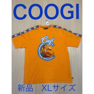 クージー(COOGI)の【新品・未使用品】COOGI オレンジTシャツ 大きいサイズ XL(Tシャツ/カットソー(半袖/袖なし))