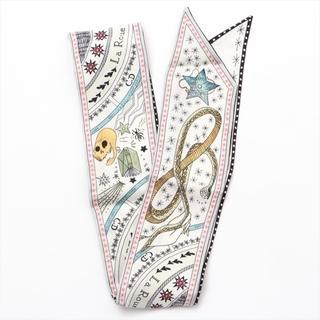 Dior - ディオール  シルク  ホワイト レディース その他ファッション雑貨