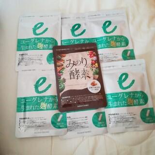 ユーグレナから生まれた麹酵素×6袋+みのり酵素1袋セット(ダイエット食品)