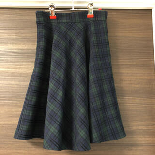 ロペピクニック(Rope' Picnic)のロペピニック・  チェック フレアスカート(ひざ丈スカート)
