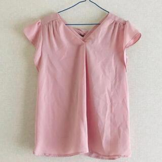ミッシュマッシュ(MISCH MASCH)のミッシュマッシュ ピンク 半袖 ブラウス(シャツ/ブラウス(半袖/袖なし))