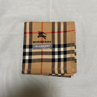 BURBERRY - バーバリー Burberry ハンカチ ベージュチェック ホース刺繍 新品