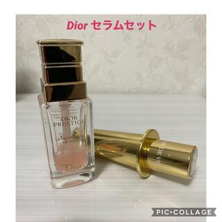 Christian Dior - ディオール プレステージ マイクロユイルド ローズセラム