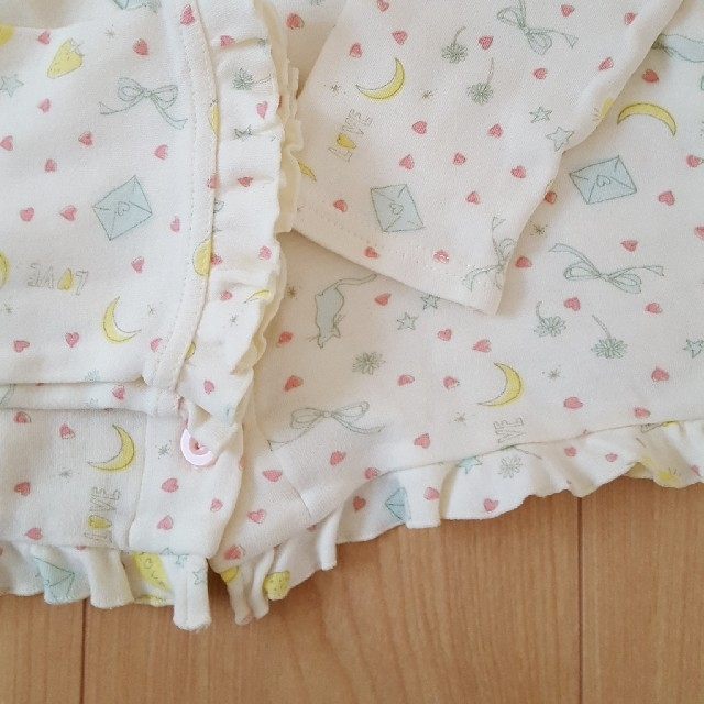 ampersand(アンパサンド)の中古 パジャマ キッズ/ベビー/マタニティのキッズ服女の子用(90cm~)(パジャマ)の商品写真