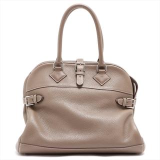 エルメス(Hermes)のエルメス アトラス35 トリヨンクレマンス  グレー ユニセックス ビジネ(ビジネスバッグ)