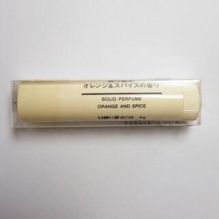 ムジルシリョウヒン(MUJI (無印良品))の新品 MUJI 無印良品 練り香水 オレンジ&スパイスの香り(ユニセックス)