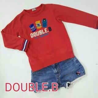 ダブルビー(DOUBLE.B)のDOUBUL.B トレーナー 130(Tシャツ/カットソー)