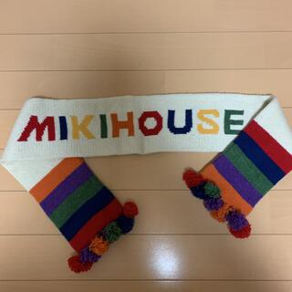 ミキハウス(mikihouse)のミキハウス マフラー MIKIHOUSE レトロ(マフラー/ストール)