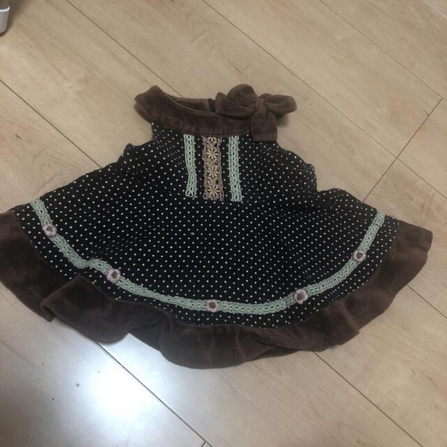 Souris(スーリー)のワンピース キッズ/ベビー/マタニティのキッズ服女の子用(90cm~)(ワンピース)の商品写真