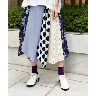 スカラー(ScoLar)のscolar スカラー 切替スカート(ロングスカート)