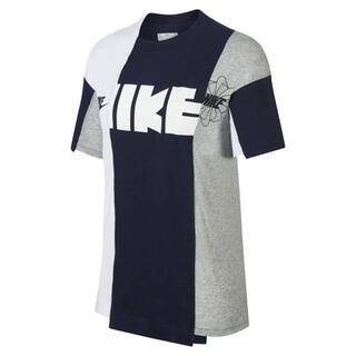 サカイ(sacai)の【新品/正規品】sacai NIKE コラボ Tシャツ NAVY×WHITE M(Tシャツ/カットソー(半袖/袖なし))