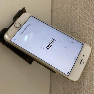 アップル(Apple)のSIMフリー iphone6s 16GB 画面割れ バッテリー85%(スマートフォン本体)
