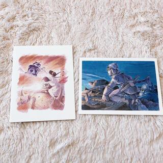 ジブリ(ジブリ)のジブリ ポストカード2枚セット(写真/ポストカード)