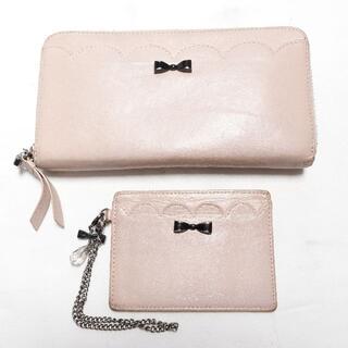 JILLSTUART - [JILLSTUART] ピンクの長財布と定期入れ2点セット