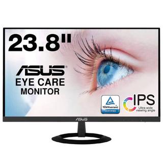 エイスース(ASUS)の【美品】ASUS フレームレス モニター 23.8インチ IPS ウルトラスリム(ディスプレイ)
