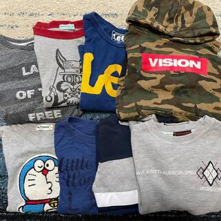 リー(Lee)の子供服 男の子 130 まとめ売り 格安(Tシャツ/カットソー)