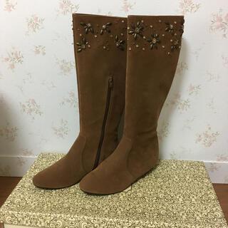 ランダ(RANDA)の新品未使用☆ランダ ロングブーツ 24.5(ブーツ)