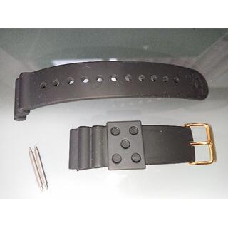 SEIKO - ラグ幅22mm 金色尾錠 バネ棒付き ラバーベルト