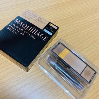 MAQuillAGE - 資生堂 マキアージュアイブロースタイリング 3D 70 レフィル(4.2g)