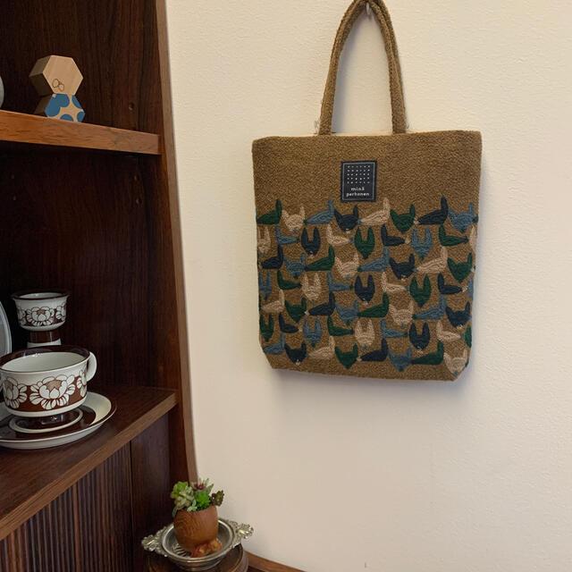 mina perhonen(ミナペルホネン)のお値下げ中 ミナペルホネン 今期即完売品 toast bag repo キツネ レディースのバッグ(トートバッグ)の商品写真