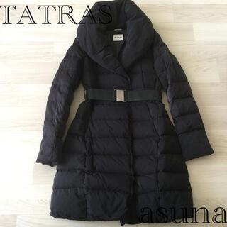 タトラス(TATRAS)のタトラス ダウンコート 02 ブラック(ダウンコート)