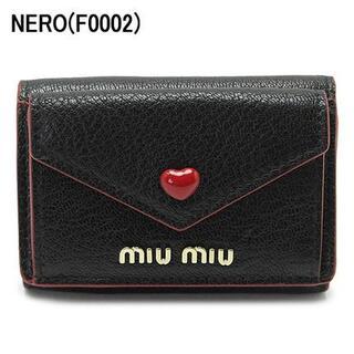 miumiu - ミュウミュウ  折財布  MADRAS  LOVE
