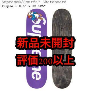 シュプリーム(Supreme)の【新品】Supreme Smurfs Skateboard Purple 紫 (スケートボード)