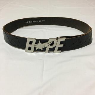 アベイシングエイプ(A BATHING APE)の90s A BATHING APE Archive Black Belts(ベルト)