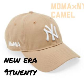 MOMA - 【新品未使用】moma new era NY yankees cap camel