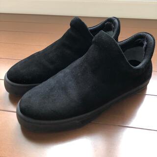 ビューティアンドユースユナイテッドアローズ(BEAUTY&YOUTH UNITED ARROWS)のビューティ&ユース ベロアインフェイクファースニーカーブーツ ブラック(ブーツ)