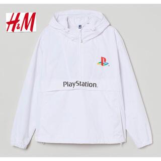 エイチアンドエム(H&M)の新品 安値 H&M × PlayStation コラボ ナイロンパーカー L(ナイロンジャケット)