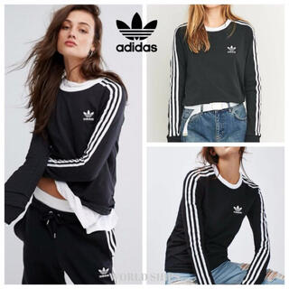 adidas - 【新品未使用】アディダスオリジナルス adidas ロングtシャツ