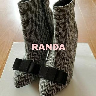 ランダ(RANDA)のショートブーツ(ブーツ)