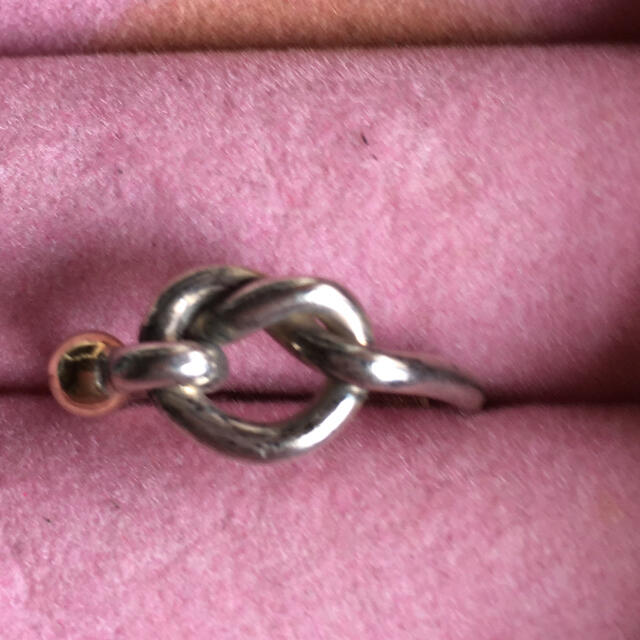 Tiffany & Co.(ティファニー)のティファニー ラブノットリング メンズのアクセサリー(リング(指輪))の商品写真