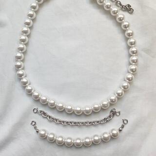 コムデギャルソン(COMME des GARCONS)のchangeable pearl necklace 3way(ネックレス)